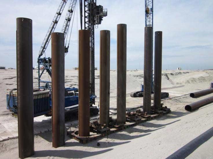 steel pipe pilings
